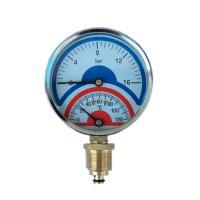 Фото термоманометра 16 bar/120C радиального (индикатор давления и температуры)